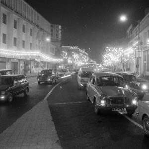 MIDNIGHT PARK STREET 1970 24'' x 16'' On Canson Bartya Photographique 310 GSM Archival Paper Original Signatured