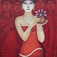 Animesh Biswas-Dream Flower