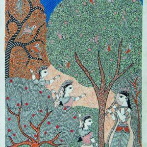 Bibhuti Nath Jha, Ink on Paper, 22 x30 inch (6)