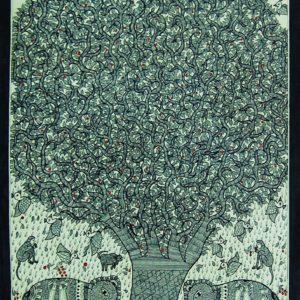 Bibhuti Nath Jha, Ink on Paper, 22 x30 inch (7)