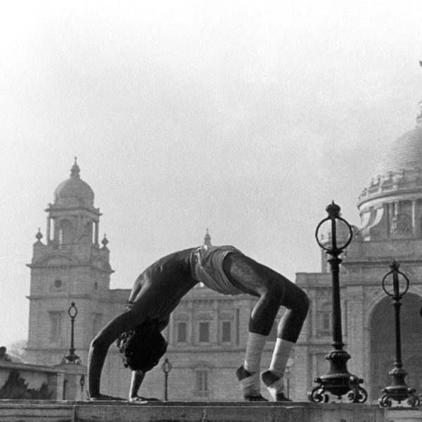 """MORNING YOGA 24"""" x 16"""" On Canson Bartya Photographique 310 GSM Archival Paper Original Signatured)"""